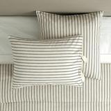 Ticking Stripe Sham Navy - Ballard Designs