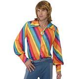 """Smiffys 1970s Colour Shirt, M - US Size 38""""-40"""""""