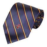 NCAA Men's Iowa State Cyclones State Stripe Necktie, Cardinal/Gold
