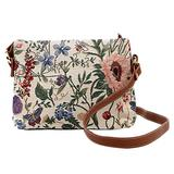 Signare Tapestry Crossbody Purse Small Shoulder Bag for Women with Morning Garden Design (XB02-MGD) l