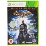 Batman Arkham Asylum Game Of The Year Edition (UK)