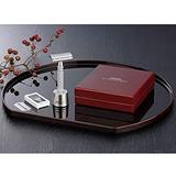 Jatai Feather Stainless Steel Double Edge Razor with Stainless Steel Stand, Extra Blades, & Gift Box