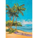 "Toland Home Garden 109585 Island Time 28 x 40 Inch Decorative, House Flag-28"" x40"""