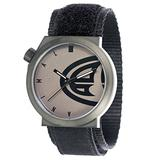 Animal Hang Ten Men's Quartz Watch with Black Dial Analogue Display and Black Fabric Strap WW3WC013-002 - O/S