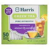 Harris Green Tea Bags, 50 Tea Bags, 3.9-Ounce Boxes (Pack of 12 boxes, 600 tea bags)