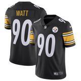 Men's Nike T.J. Watt Black Pittsburgh Steelers Vapor Untouchable Limited Jersey