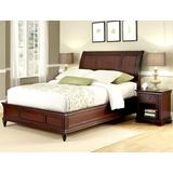 Lafayette Cherry King Sleigh Bed & Night Stand by Home Styles