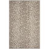 Martha Stewart Rugs Martha Stewart Animal Print Hand Tufted Sharkey Gray Area Rug Viscose/Wool in Brown/Gray, Size 51.0 H x 30.0 W x 0.63 D in