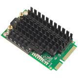 Mikrotik R11e-5HnD, High power 802.11a/n dual chain wireless card miniPCI-e, 500mW, 2x MMCX, 5w.