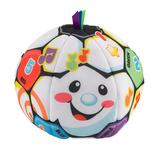 Fisher-Price Laugh and Learn Singin' Soccer Ball, Multicolor