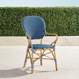 Set of 2 Paris Bistro Arm Chairs - Navy - Frontgate