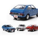 [Hyundai Toys Collation] Mini Car 1:38 Scale Unique Miniature Diecast Model 1-pc Set For 1985 Hyundai Pony Excel (Blue)