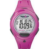 Timex T5K780 Ladies Ironman Pink Resin Strap Watch