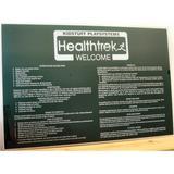 Kidstuff Playsystems, Inc. Welcome Sign Metal in Green, Size 62.0 H x 40.0 W in   Wayfair HTK20