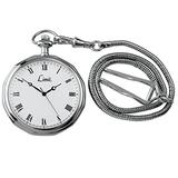 Limit Men's Round Silver Coloured Pocket Watch 5335.90 with A Silver/White Dial