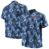 Men's Tommy Bahama Navy Chicago Bears Big & Tall Fuego Floral Button-Up Shirt