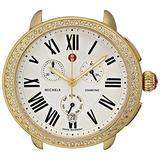 MICHELE Women's MW21A01B0966 Serein Analog Display Swiss Quartz Gold Watch Head