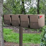 Mail Boss 4-Way Bar Spreader in Brown, Size 2.0 H x 5.0 W x 47.5 D in   Wayfair 7137