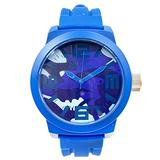 Kenneth Cole Reaction Silicone - Blue Men's watch #RK1296