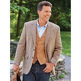 Men's John Blair Signature Donegal Tweed Sportcoat, Tan 48 Long