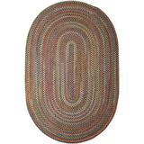 Colonial Mills Rustica Braided Rug, 3 by 5-Feet, Classic/Multicolor