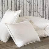 Eastern Accents Concerto Premier Down Plush Support Pillow Down & Feathers/100% Cotton in Gray, Size 21.0 H x 37.0 W x 6.0 D in | Wayfair