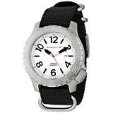 Men's Sports Watch | Torpedo Dive Watch by Momentum | Stainless Steel Watches for Men | Analog Watch with Japanese Movement | Water Resistant (200M/660FT) Classic Watch - Lume / 1M-DV74L7B