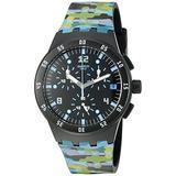 Swatch Unisex SUSB403 Originals Analog Display Swiss Quartz Multi-Color Watch