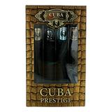 Cuba Variety 4 Piece Set For Men (Gold 1.17 Eau De Toilette Spray/Blue 1.17 Eau De Toilette Spray/Red 1.17 Eau De Toilette Spray/Orange 1.17 Eau De Toilette Spray)