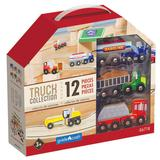 Guidecraft Wooden Truck Collection, Multicolor