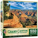 MasterPieces National Parks 550 Puzzles Collection - Grand Canyon South Rim 550 Piece Jigsaw Puzzle