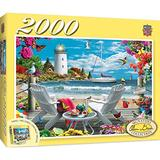 MasterPieces Signature 2000 Puzzles Collection - Coastal Escape 2000 Piece Jigsaw Puzzle