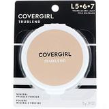 CoverGirl TruBlend Pressed Powder, Translucent Light (L 5-7), 0.39 oz (Pack of 16)