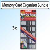 Pioneer Photo Albums Memory Card Organizer Bundle of 3 [Personal Computers]