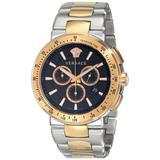Versace Men's VFG100014 MYSTIQUE SPORT Two-Tone Stainless Steel Watch
