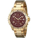 Invicta Men's 6400 II Collection Chronograph 18k Gold-Plated Stainless Steel Watch