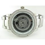Super Techno Mens Genuine Diamond Watch (0.10 Ct.tw.) - M6303