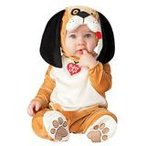 InCharacter Puppy Love Infant/Toddler Costume, X-Small (0-6) Orange