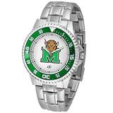 Football Fanatics NCAA Marshall Thundering Herd Men's Competitor Watch with Stainless Steel Band