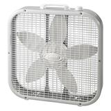Lasko 20-in. Box Fan, White