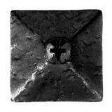 Acorn Stainless Steel Door Clavo in Black, Size 0.75 H x 0.75 W x 0.5 D in   Wayfair RMBBP