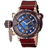 Invicta Men's 16172 Russian Diver Analog Display Mechanical Hand Wind Brown Watch