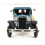 Old Modern Handicrafts Decorative 1931 Ford Model A Tow Truck 1:12Metal in Blue/White, Size 6.0 H x 6.0 W x 16.8 D in   Wayfair AJ028