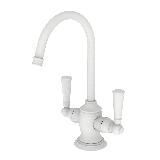 Newport Brass 2470-5603 Astor 1.5 GPM Hot / Cold Water Dispenser Matte White