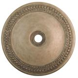 """Livex Lighting 82078 42"""" Diameter Ceiling Medallion from the Wingate Collection Hand Painted Antique"""