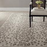 Safavieh Martha Stewart Collection MSR3621D Handmade Kalahari Wool & Viscose Area Rug, 8' x 10', Sharkey Gray