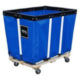 ROYAL BASKET TRUCK G06-BBW-PMA-3UNN Basket Truck,6 Bu. Cap.,Blue,30 In. L