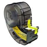 BRADY XC-500-595-CL-BK Label Tape Cartridge, Black/Clear, Labels/Roll: