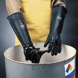 """SHOWA BEST N8-09 18"""" Chemical Resistant Gloves, Neoprene, 9, 1 PR"""