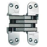"SOSS 220US26D 1-3/8"" W x 5-1/2"" H Satin Chrome Concealed Hinge"